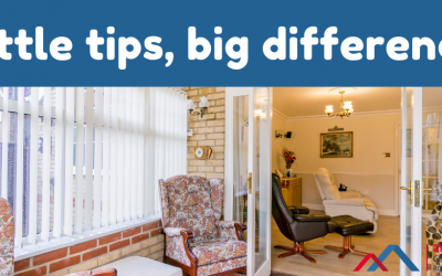 Conservatory: little tips – big difference