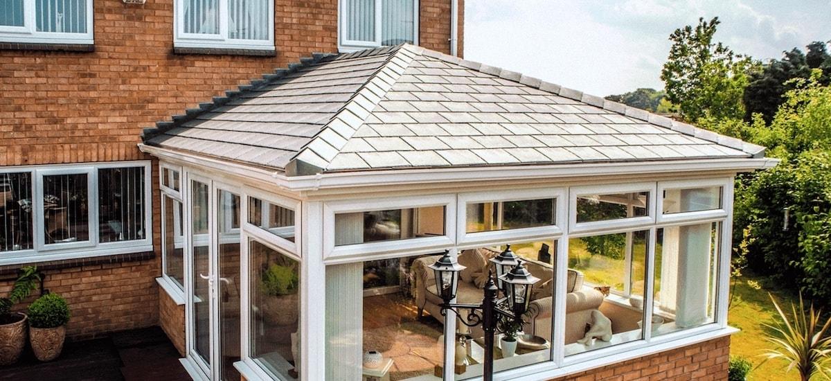 Lightweight Tiled Conservatory Roof